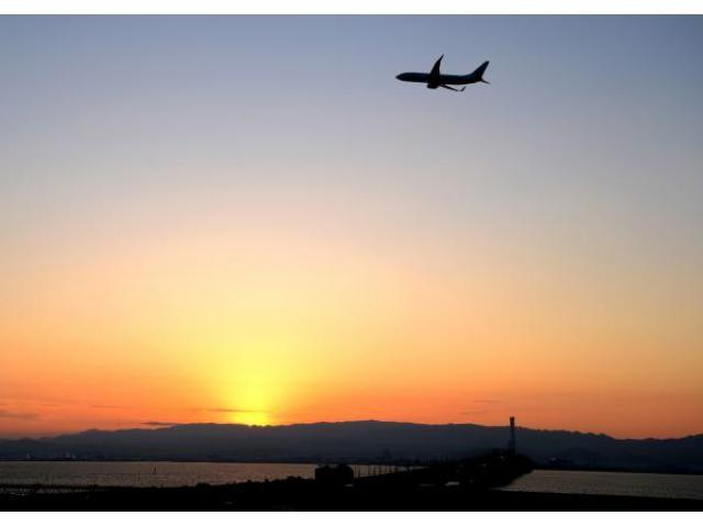 関空展望ホール「Sky View」 初日の出