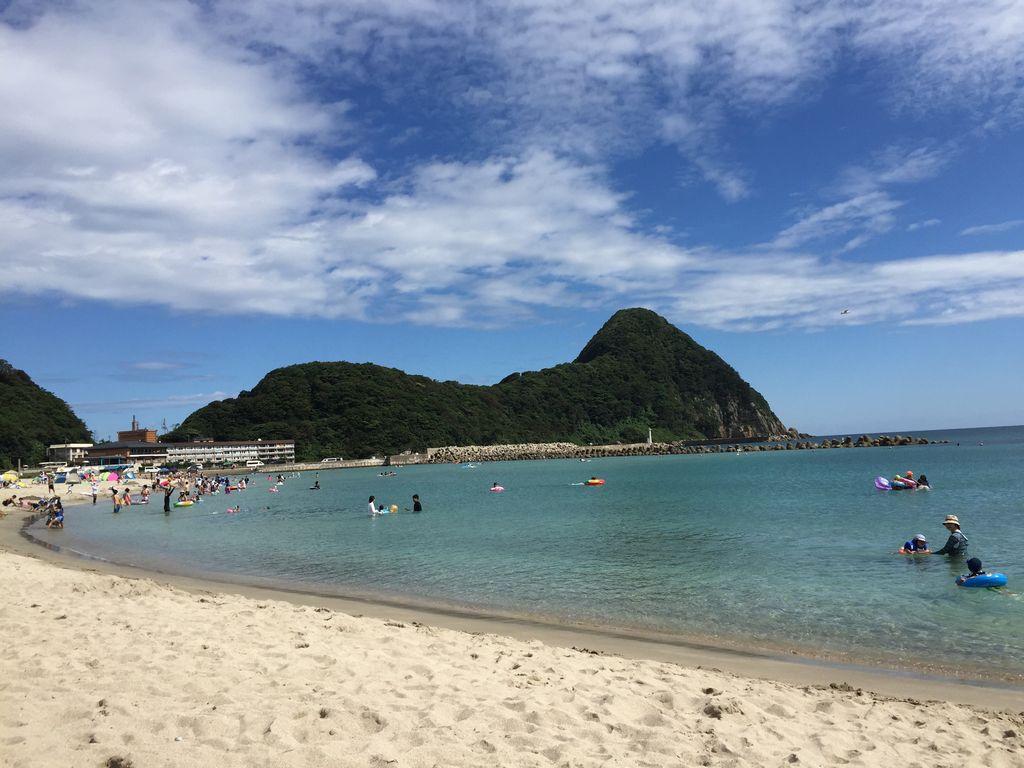 浜 海水浴 竹野
