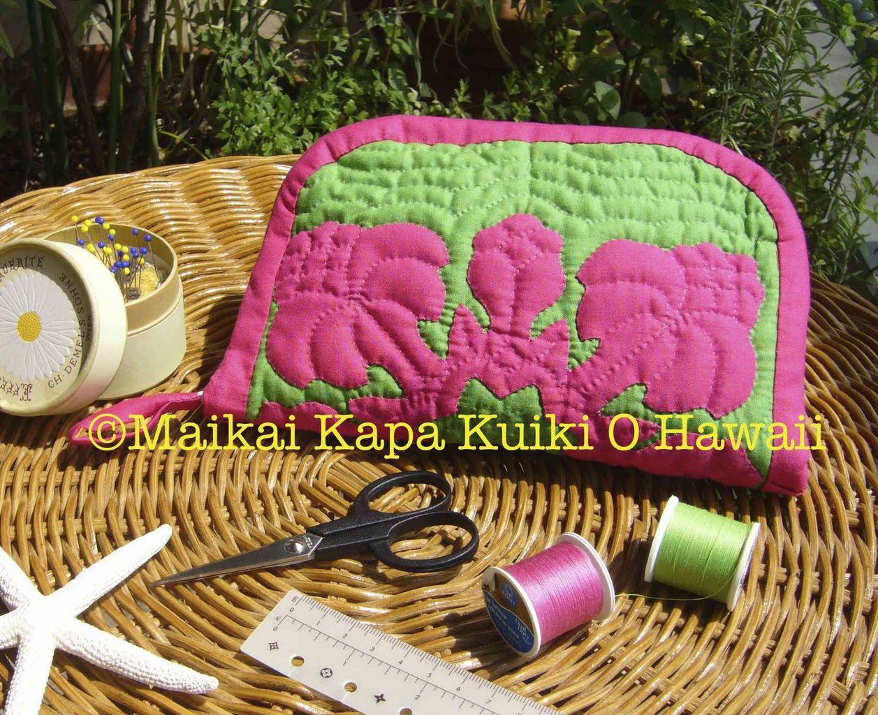ハワイアンキルト教室 Maikai Kapa Kuiki O Hawaii