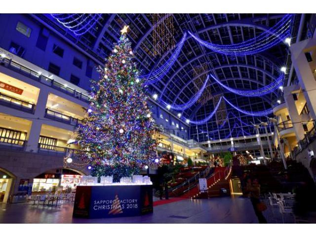 SAPPORO FACTORY CHRISTMAS 2019
