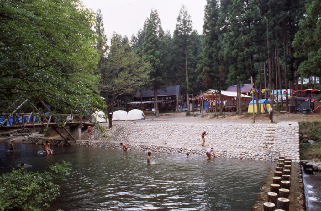 八曽自然休養林キャンプ場