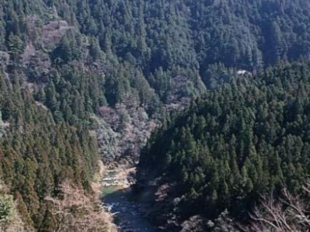 振草渓谷県立自然公園