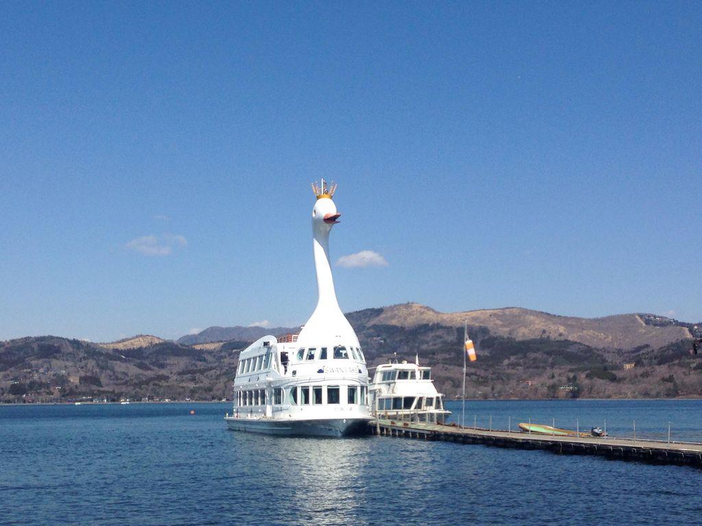 山中湖観光船