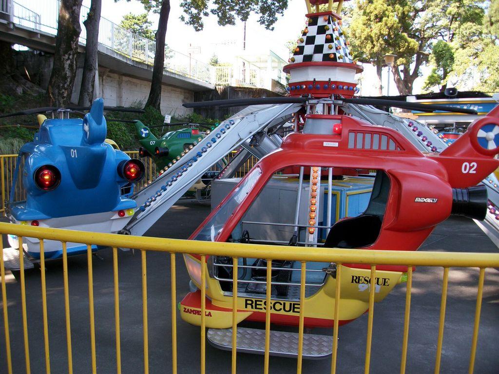 前橋るなぱあく(前橋市中央児童遊園地)