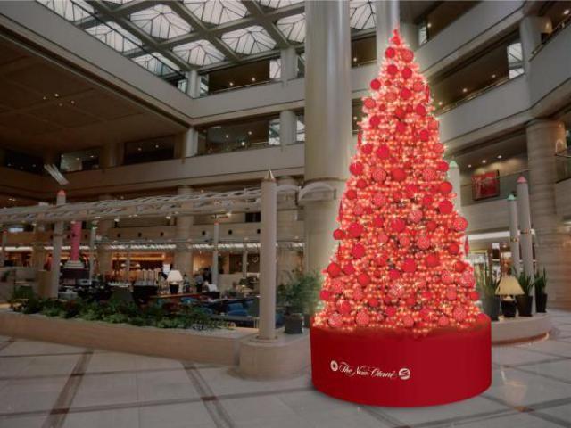 ホテルニューオータニ大阪 クリスマスイルミネーション