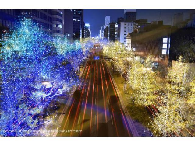 大阪・光の饗宴2018 御堂筋イルミネーション2018