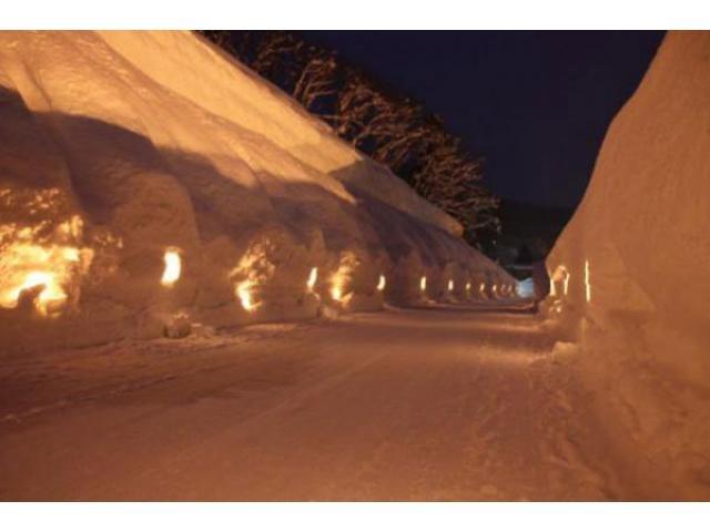 肘折幻想雪回廊