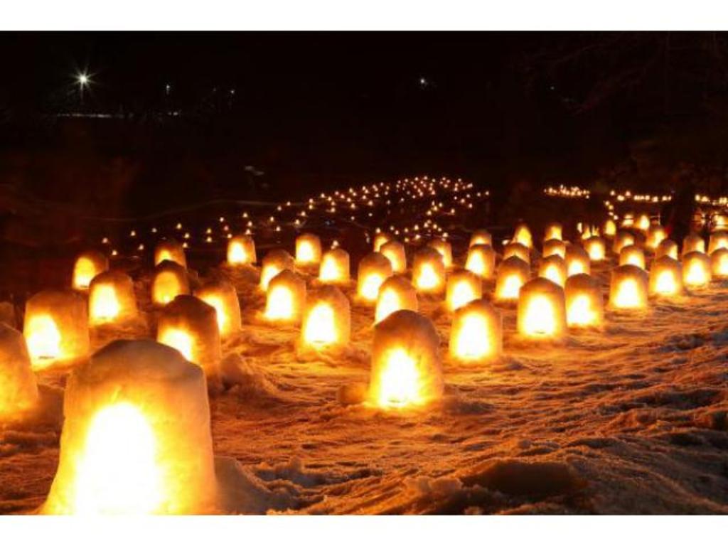 湯西川 かまくら 祭り 2020