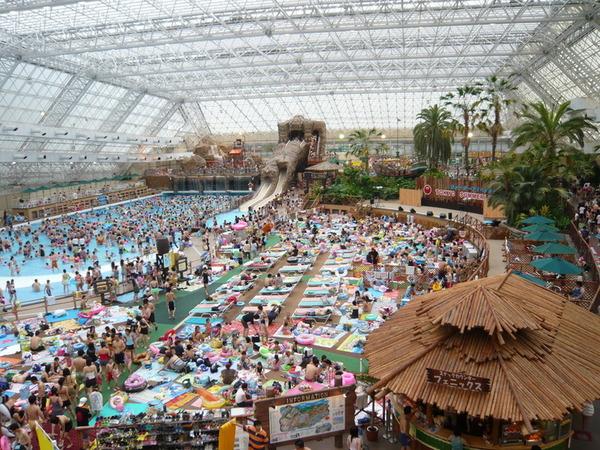 水上樂園亦是全日本其中一個最大的