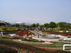 国営みちのく杜の湖畔公園