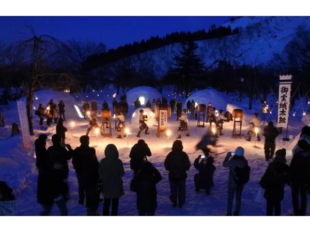 六日町温泉かまくら祭り 雪美洞祭