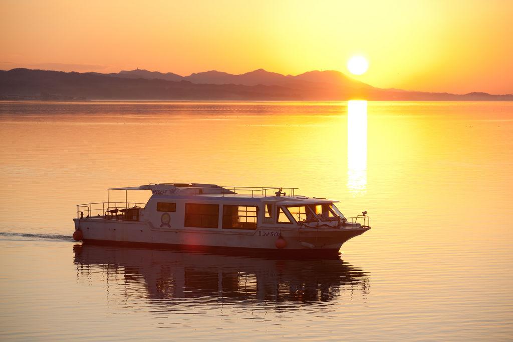 宍道湖観光遊覧船