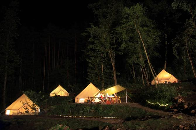白州・尾白FLORA Campsite in the Natural Garden