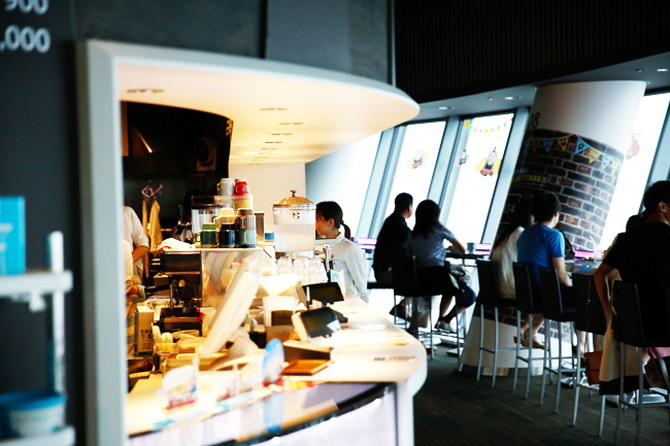 フロア340「SKYTREE CAFE」