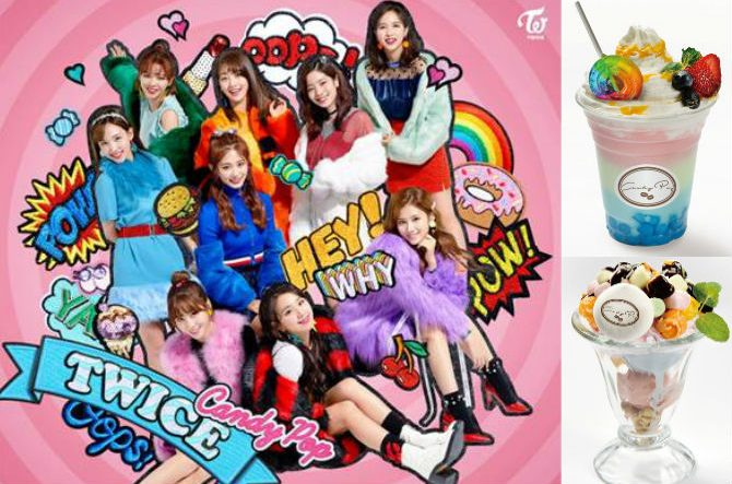 TWICE Candy Pop Cafe