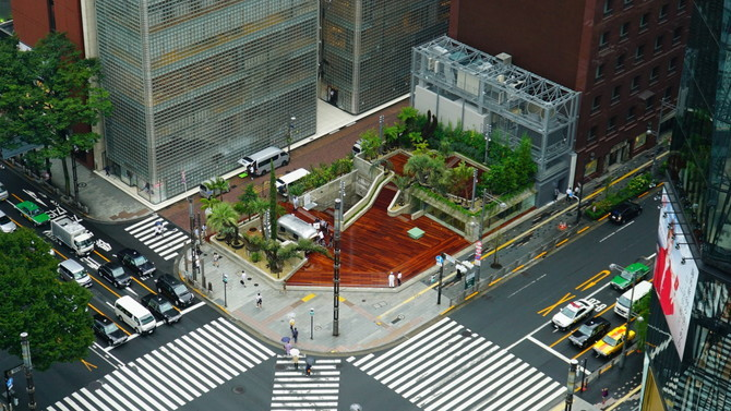 (C)Ginza Sony Park Project