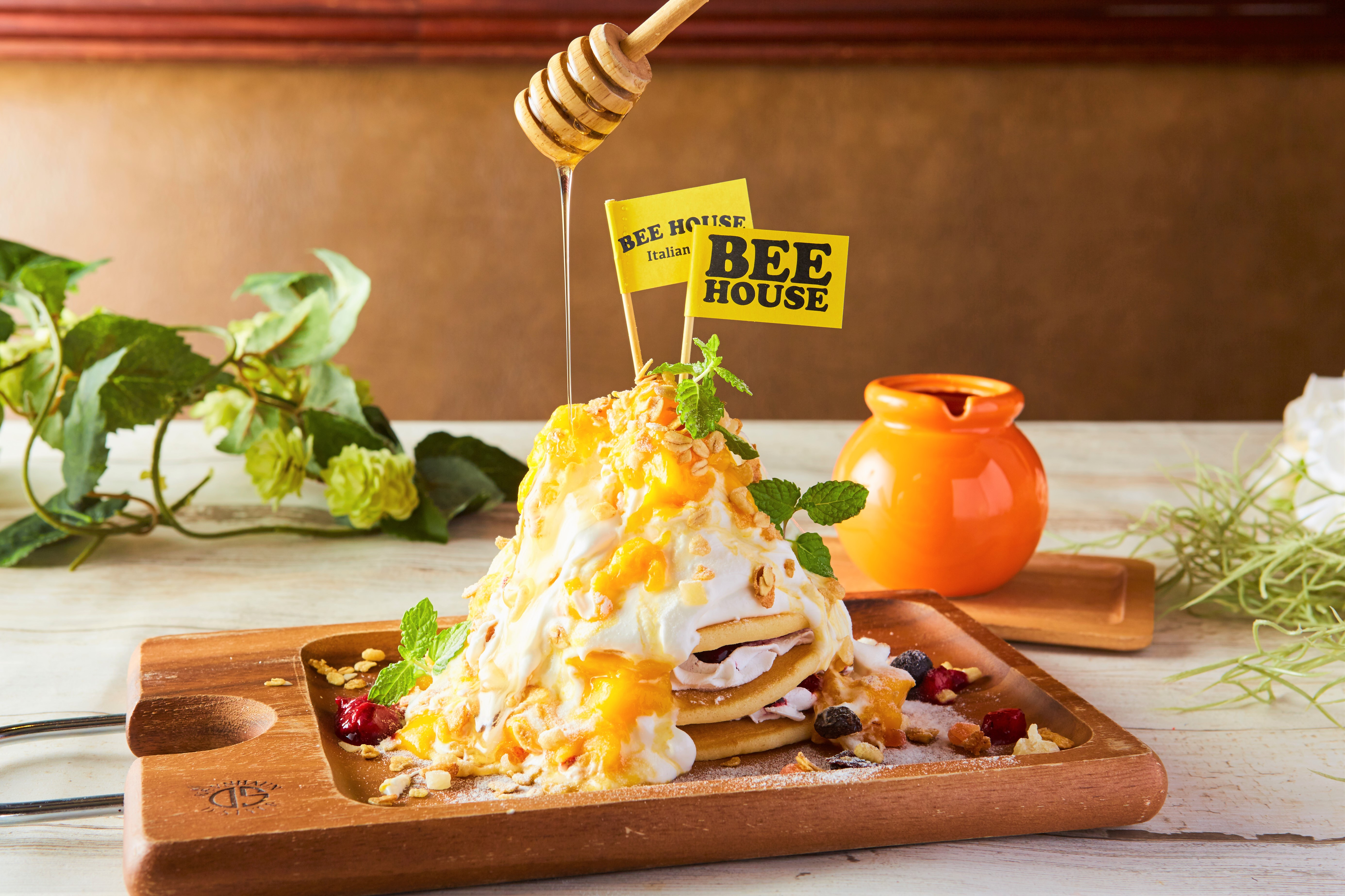 bee the house パンケーキ