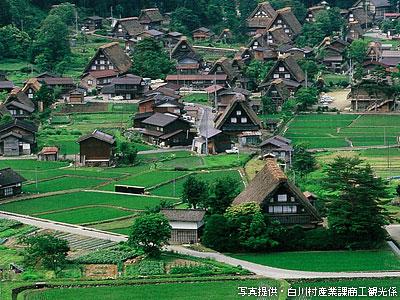 白川郷・五箇山の合掌造り集落の画像 p1_11